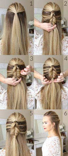 10 peinados fáciles y elegantes para ir a la oficina 759f09652bd5
