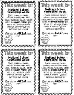 85 Best National School Counseling Week images in 2019