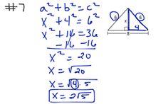 Geometry Ch 8 Test Rev #7