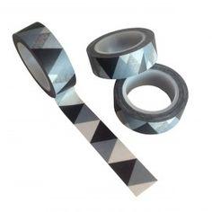 Triangle masking tape.  www.jooki.nl