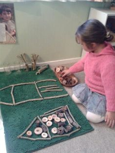 "Natural resource creation at Tu Tamariki - Play Based Learning ("",)"
