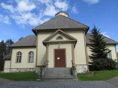 Joutsa cruciform church was completed in 1813. Heikki Juhonpoika Salo,  Joutsa, FINLAND photo by Tiina Litukka 06/14