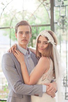 Our Lottie boho wedding veil