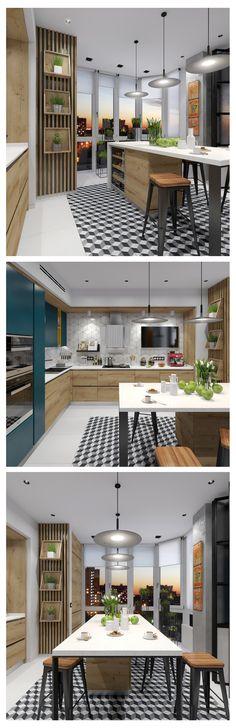 Интерьер кухни - Галерея 3ddd.ru