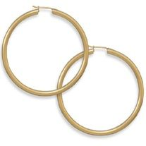 Set in 14k gold over sterling silver.  Measure 50 mm x 2.8 mm Secured by click closure
