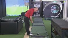 Come practice your putting in Milton Keynes at our indoor teaching centre