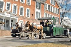 Middlebury Vermont's Latest Trash Haulers Are Equine...