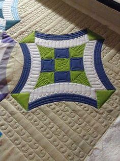 Sew Kind Of Wonderful: Urban Nine Patch Quilt