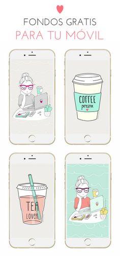 Fondos de pantalla para móvil gratis (iPhone, Samsung...) / iPhone backgrounds or wallpapers