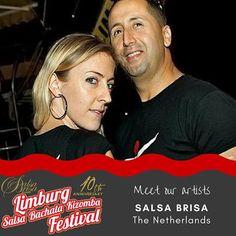 Meet the artists. Get your ticket at: LimburgSalsaFestival.com #10LSBKF #LSF #LSBKF #SalsaBrisa #Maastricht #Alwaysfun #Nonstopdancing #nonstopfun #khalidnaomi