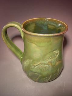 Ceramic Coffee Mug  Tea Mug  Hot Chocolate Mug  Zen by anuart, $25.00
