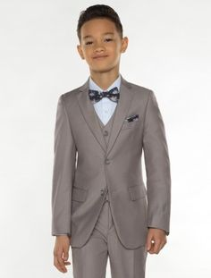 boys beige suit