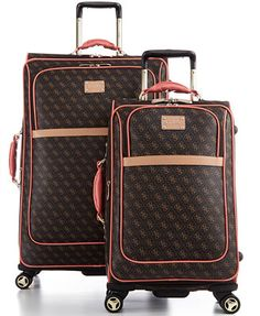 Victoria's Secret Pink Limited Edition 3 Piece Travel Set Luggage ...