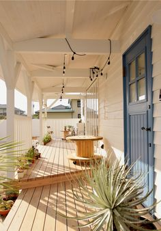 California Style, Clean House, Interior And Exterior, Porch, Sweet Home, Stairs, House Design, Colours, Garden
