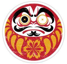 Kabuki Daruma by Cow41087