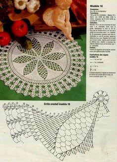 Home Decor Crochet Patterns Part 155 - Beautiful Crochet Patterns and Knitting Patterns Filet Crochet, Crochet Doily Diagram, Crochet Doily Patterns, Crochet Chart, Thread Crochet, Crochet Motif, Crochet Designs, Crochet Doilies, Knitting Patterns