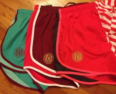 No joke... I own every pair of shorts in this picture.. just need the monograms