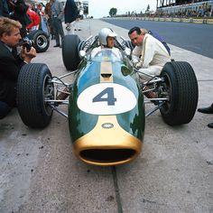 "Denis Clive ""Denny"" Hulme (NZ) (Brabham Racing Organisation), Brabham BT20 - Repco 620 3.0 V8 with John Arthur ""Jack"" Brabham (finished 1st)1966 German Grand Prix, Nürburgring Nordschleife"