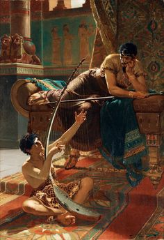 Julius Kronberg, David and Saul, 1885.