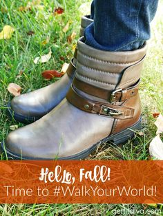 Enjoying Fall – Time to #WalkYourWorld Giveaway! | The Get Fit Diva