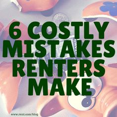 Don't make one of these costly mistakes that are all too common for renters. Read more now on The Shared Wall blog from Rent.com!