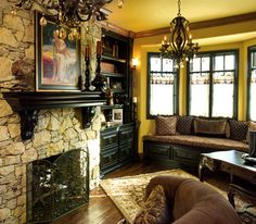 Stone Fireplace With Built Ins Design, Pictures, Remodel, Decor and Ideas - page 26  LOVE!