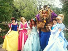 Use Disneyland websites to locate your favorite characters.