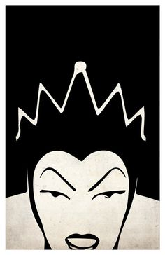 Disney Villains Poster Set Maleficent Ursula The by PrintMadness
