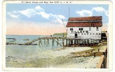 Sea Cliff Li NY Tilley's Boat House Bay Postcard. unsent. Circa 1918 | eBay