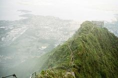 """""""Stairway to Heaven"""" Hawai'i. Haiku Stairs by Kyle Ford 