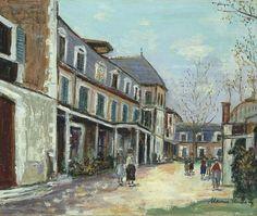 Maurice Utrillo, Hospice de Saint-Vincent de Paul (Le berceau de St Vincent)