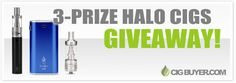 Enter to a Halo Cigs Tracer or Reactor Box Mod from @cigbuyer: http://www.cigbuyer.com/halo-cigs-3-prize-mod-liquid-giveaway/ #ecigs #vaping #halocigs #vapecontest #vapegiveaway