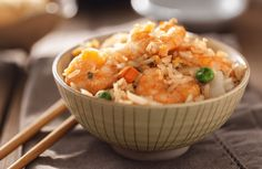 Shrimp Fried Rice Recipe via @SparkPeople