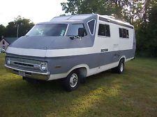 Vintage 1972 Rectrans Discoverer Motorhome -Dodge