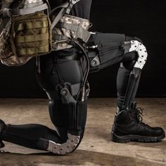 DARPA Wearable Tech Suit Could Help Soldiers Run a 4-Minute Mile