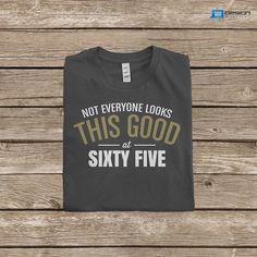 65th Birthday TShirt Great 65th Birthday by DesignInventPrint, $17.99