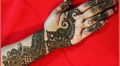10 Simple Arabic Mehndi Designs For Hands In 2015  #ArabicMehndi #BridalMehndi #IndanMehndi #PakistaniMehndi