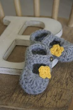 B is for .... baby slipper