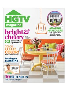 Online content from the May 2013 issue of HGTV Magazine