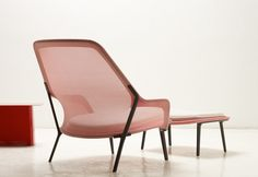 Slow chair, by Ronan and Erwan Bouroullec for Vitra, ᔥ @designmilk