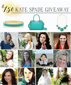 Enter to win a $150 Kate Spade Giveaway!