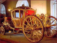 Carraige belonged to Catherine the Great. I've seen this in real life!