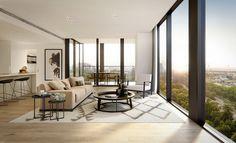 Image result for floodslicer renders Furniture, Apartment Living, Interior, Home, Hotel Exterior, Hotel, Apartment, Room Divider, Interior Design