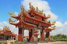 Luerhmen  Tian Hou Gong, Tainan #Taiwan 台南 鹿耳門天后宮