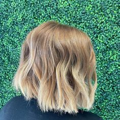 Layered hair is great but there is something about a blunt cut that just works. Having your hair all the same length can really make it easier to styl... Bob Cuts, Blunt Cuts, Blunt Hair, Layered Hair, Your Hair, Short Hair Styles, How To Make, Beauty, Bob Styles