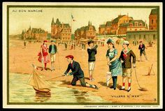 French Beaches - Villers by cigcardpix, via Flickr