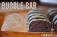 SLS FREE bubble bar recipe!