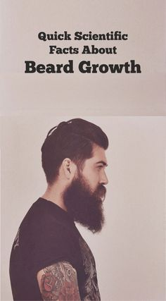 Must known facts, if you aiming for fuller thicker beard.