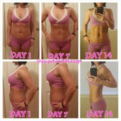 Getting back on track with the #21DayFix  Almost done...here's my transformation so far!