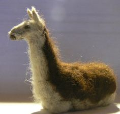 needle felted llama. There needs to be a ALPACA! ill find one!